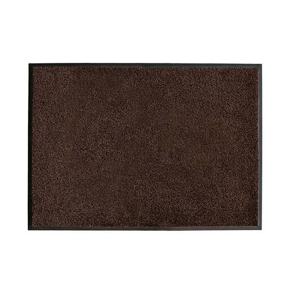 Droogloopmat-Dry-Clean-Bruin