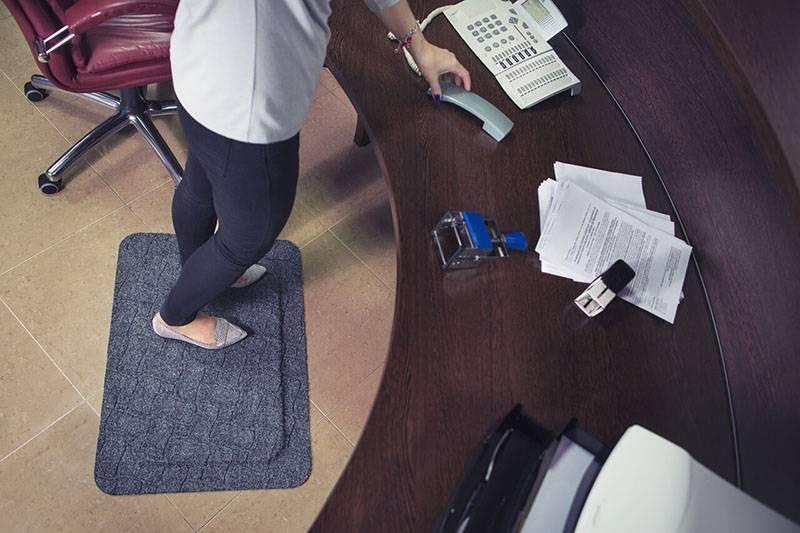 Clean Comfort office ergo mat