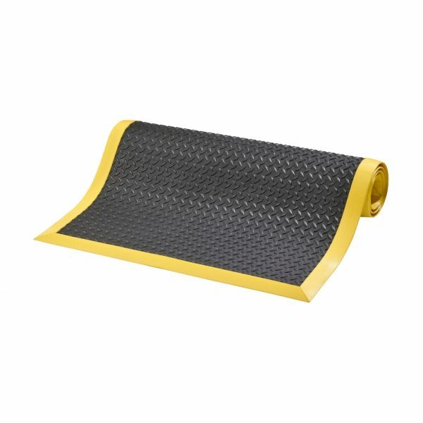Cushion Flex ergonomische mat met traanplaatmotief nitrilrubber